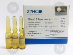 Zhengzhou Mix of 3 Trenbolones U.S.P 200mg (Тренболон Микс) амп