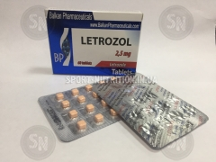 Balkan Letrozol 2.5mg (Letrozole ) 20 tabs