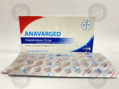 EPF Anavarged 10mg (Оксандролон) 50 таб